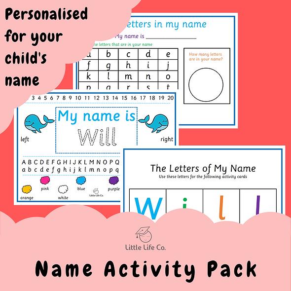 Personalised Name Pack (Digital)