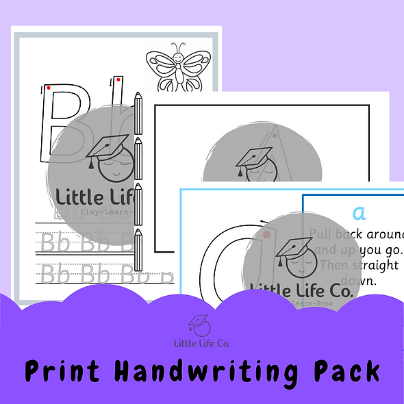 Print Handwriting Pack (Digital)