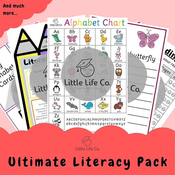 Ultimate Literacy Pack (Digital)