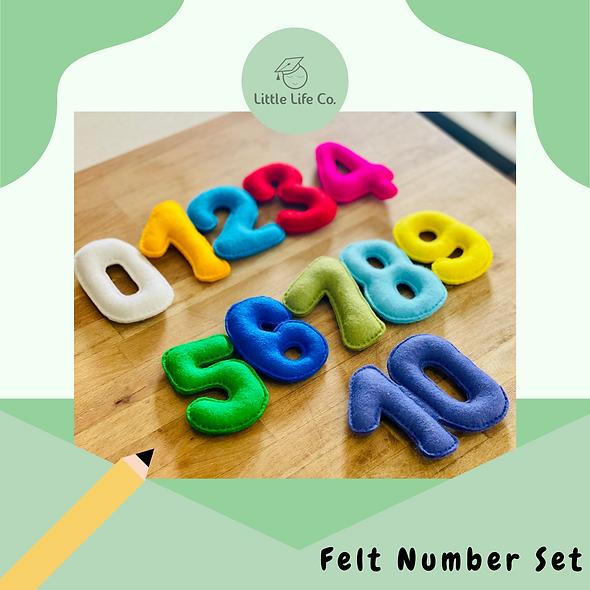 Felt Number Set