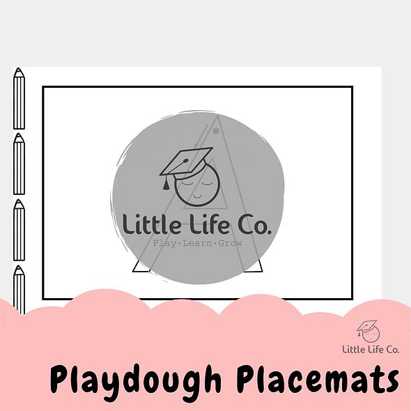 Playdough Placemats (Digital)