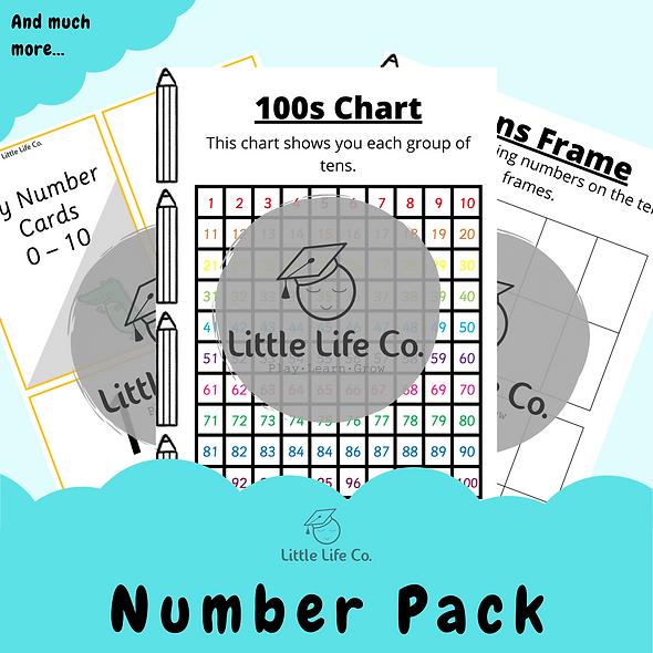 Numbers Pack (Digital)