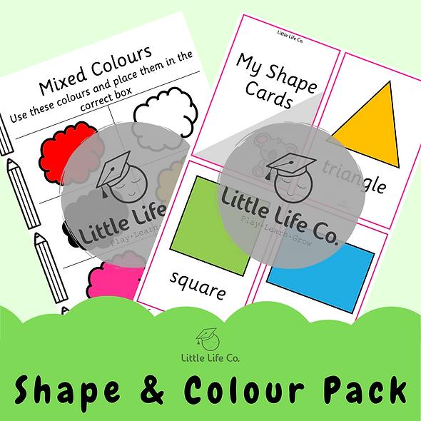 Shape & Colour Pack (Digital)