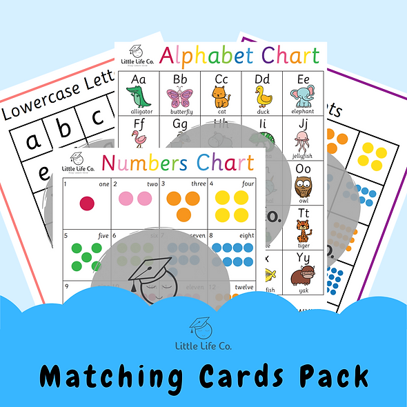 Matching Cards Pack (Digital)