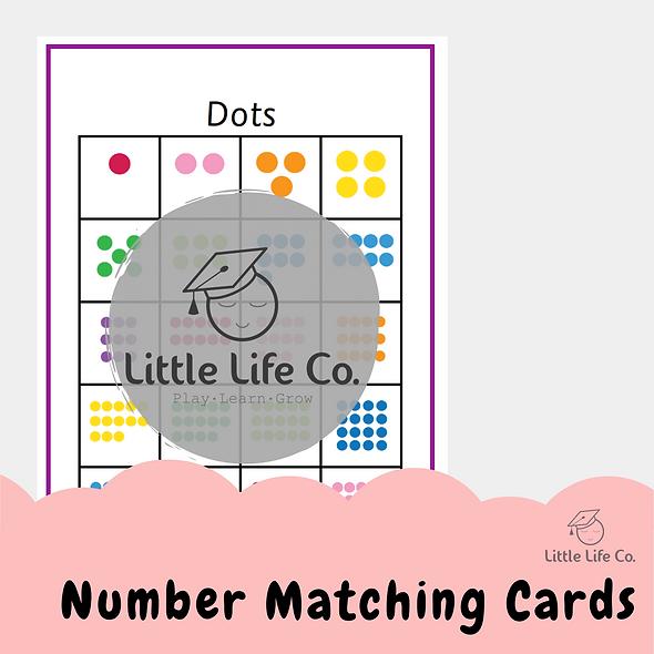 Number Matching Cards (Digital)