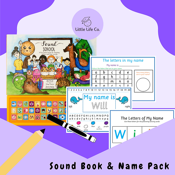 Name Pack & Sound Book