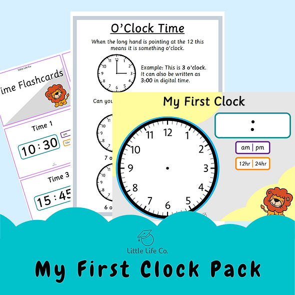 My First Clock Pack (Digital)