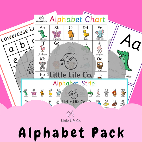 Alphabet Pack (Digital)