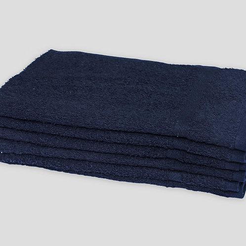 """16"""" X 27 BLACK SALON TOWELS - BLEACH RESISTANT - RING SPUN - 100% COTTON"""