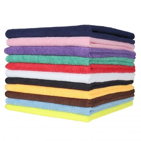 """12"""" X 12"""" MICROFIBER CLEANING TOWELS"""