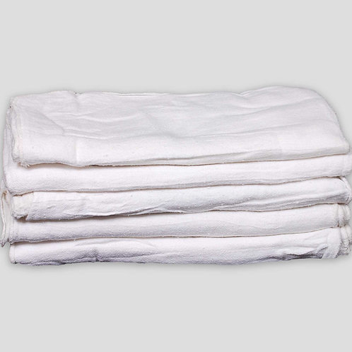 """18"""" X 18"""" BLEACHED SHOP TOWELS HEAVY WEIGHT � IMPORT"""