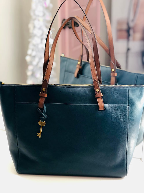 Fossil ZB750780 Rachel Tote Teal