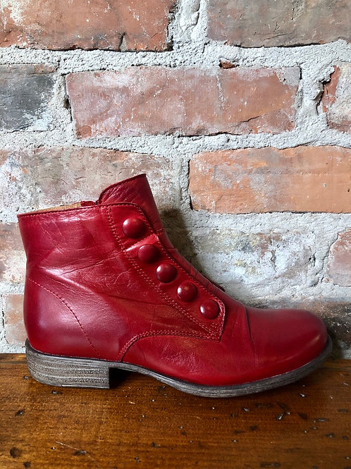 Miz Mooz Louise Red Bootie