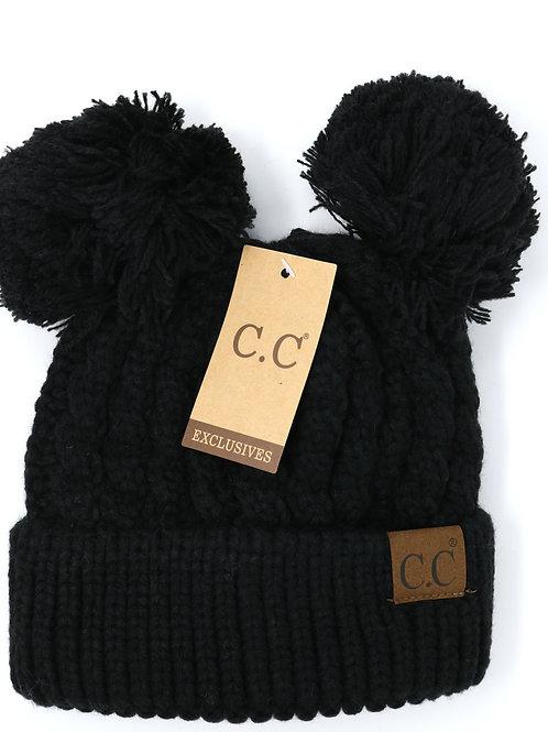 C.C. Exclusives Black HAT-60