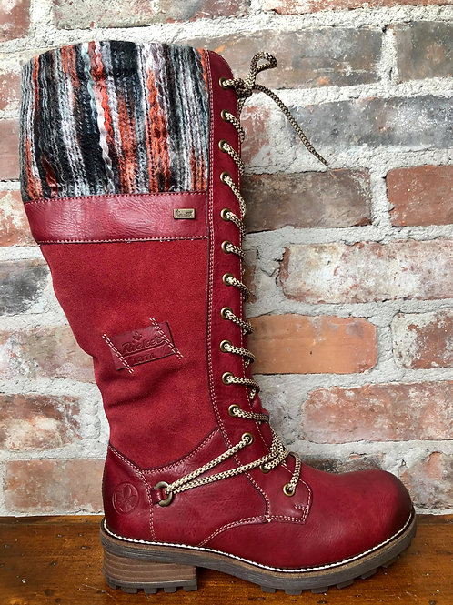 Rieker Red Boot Z0442-35