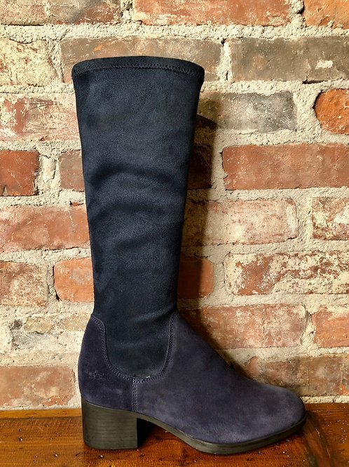 Bos & Co Rally Navy Boot