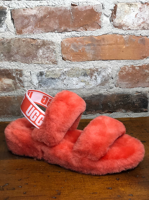 Ugg Oh Yeah Pop Coral Slipper