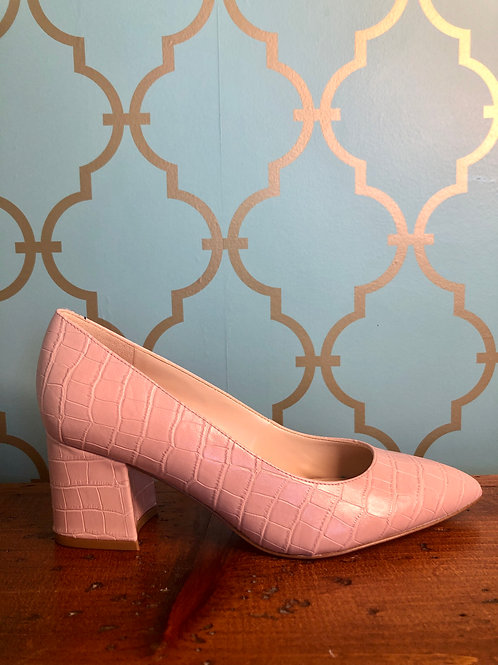 Nine West Tves3 Pink Pump