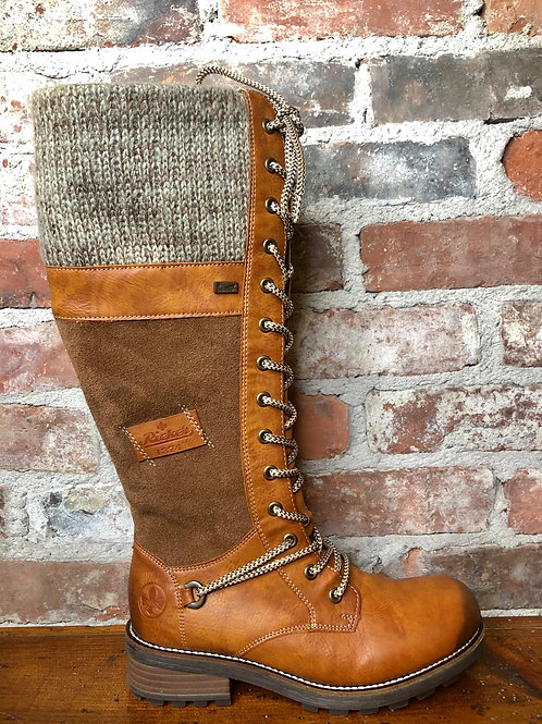 Rieker Brown Boot Z0442-24