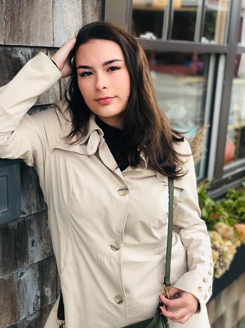 Cream Annabell Trenchcoat