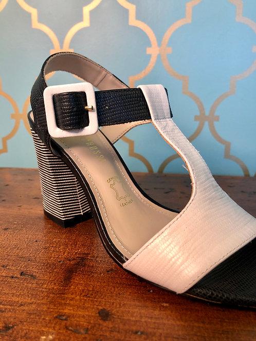 Capelli Rossi Anita Black/White Heel