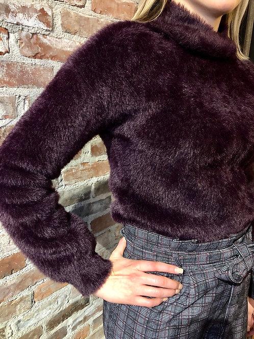 Joseph Ribkoff Blackberry Sweater 193880