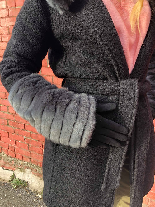 Joseph Ribkoff Black & Grey Coat 193929