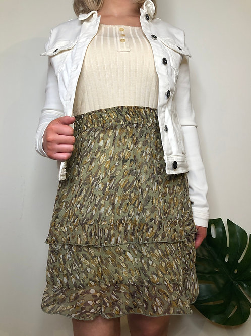 EsQualo SP2015014 Olive Skirt