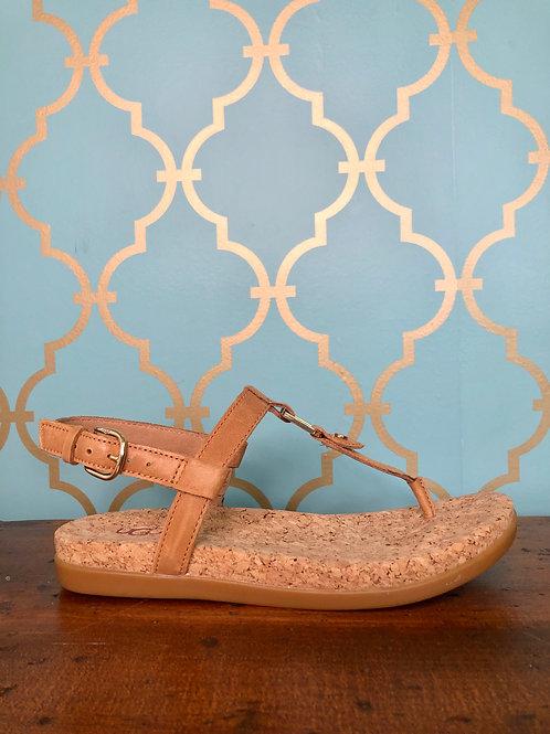 UGG Aleigh Almond Sandal
