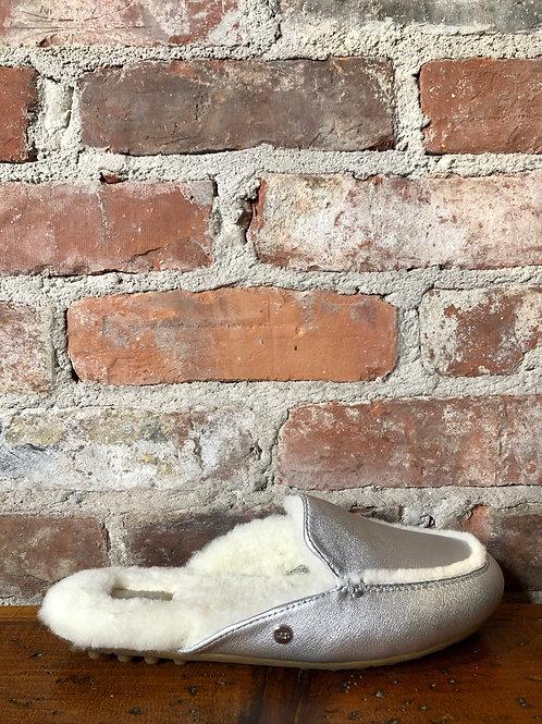 UGG Lane Silver Slipper