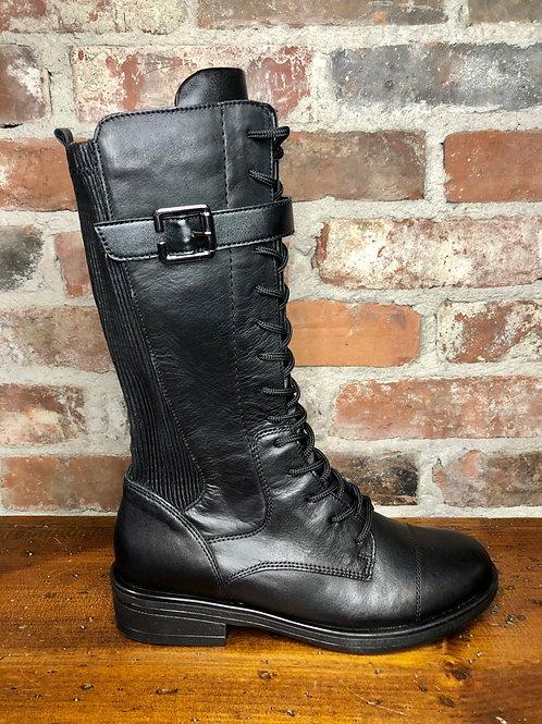 Remonte R4982-01 Black Knee Boot