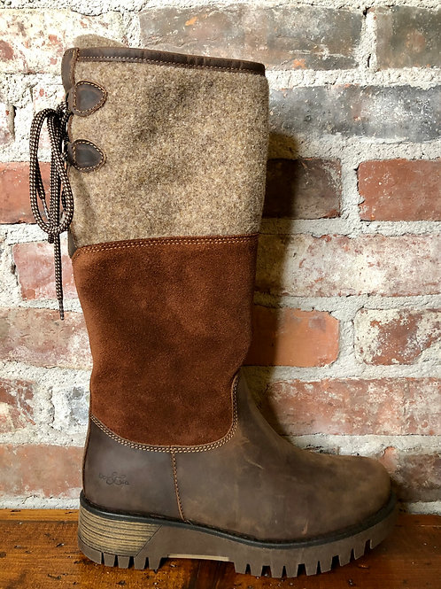 Bos & Co Ginger Espresso Boot