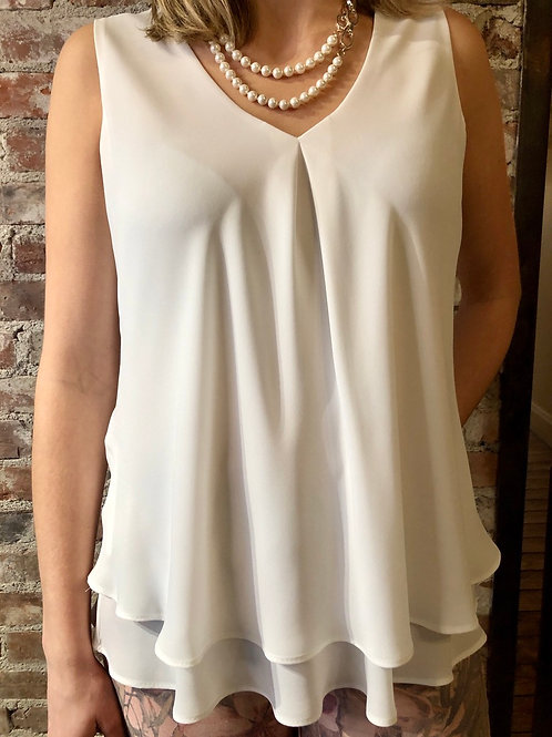 Frank Lyman White Top 61175