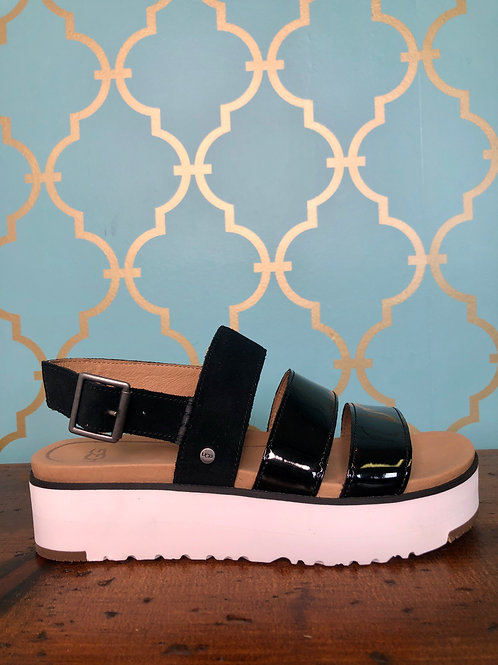 UGG Braelynn Black Sandal