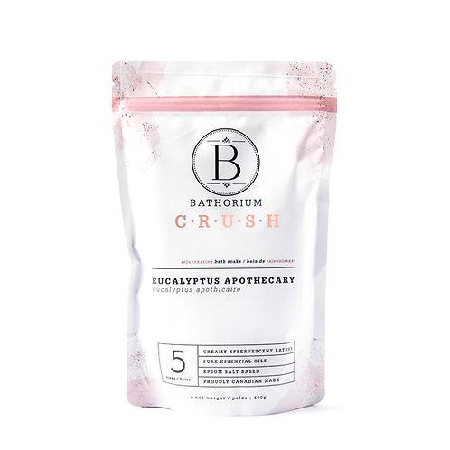Bathorium Bath Salt Eucalyptus Apothecary 600g