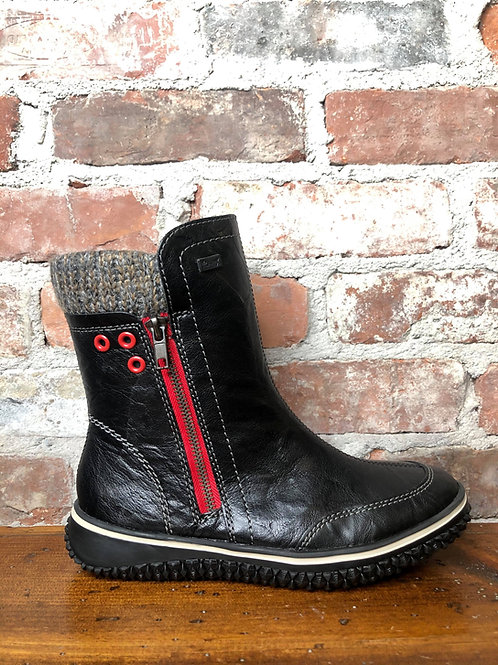 Rieker  Z4270-00 Black Boot