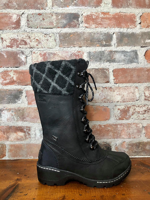 Sorel Whistler Tall Black Boot