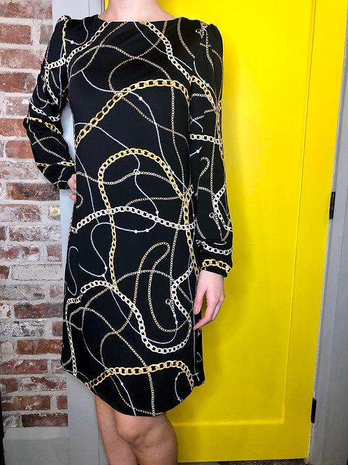 Frank Lyman Chain Dress 196336