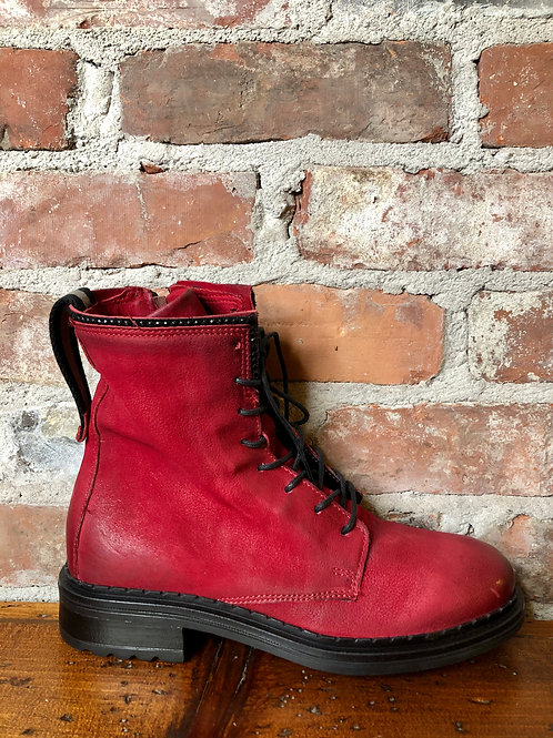 Mjus Red Bootie 223204