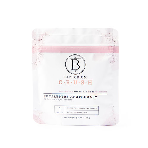 Bathorium Bath Salt Eucalyptus Apothecary 120g