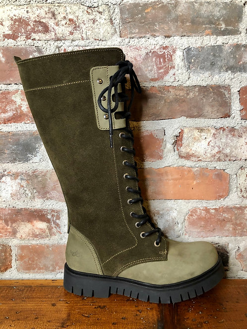 Bos & Co Portage Olive Boot