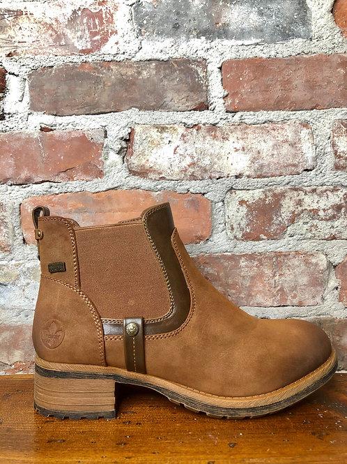 Rieker Brown Bootie 96850-24