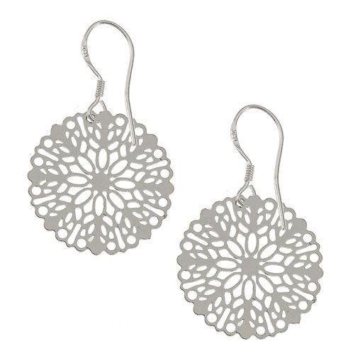 Nora Mila Silver Earring