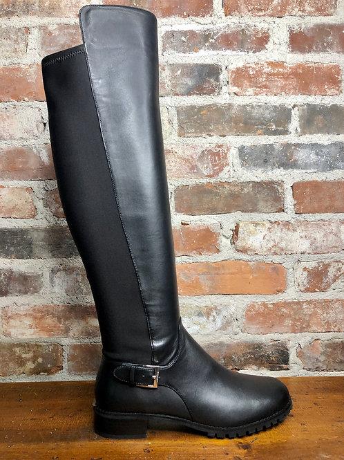 MK Branson Black High Boot
