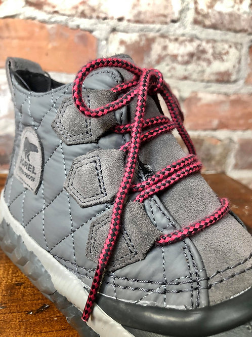 Sorel Out N About Quilted Grey Bootie