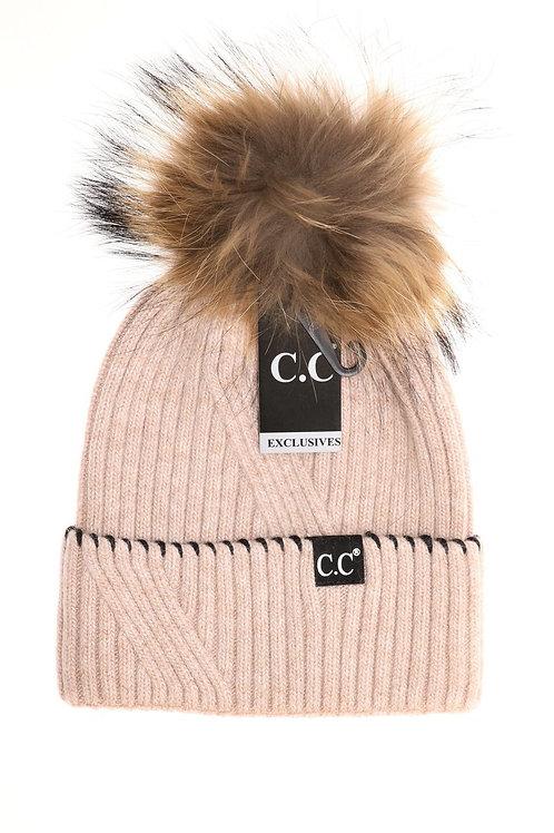 C.C. Exclusives Rose Hat ST-71