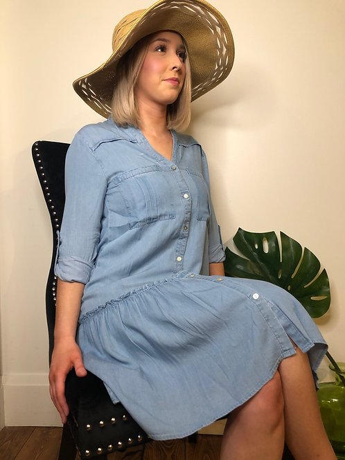 EsQualo SP2016002 Denim Dress