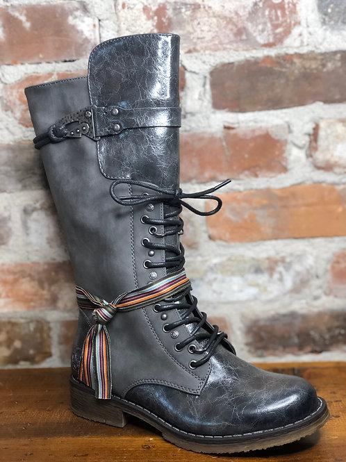 Rieker 94468-45 Grey Boot