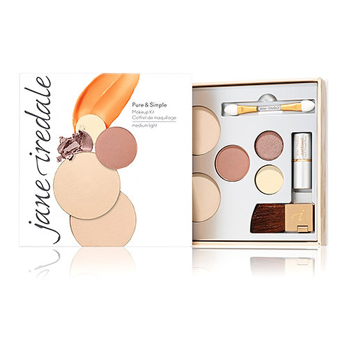 Jane Iredale Pure & Simple Makeup Kit Medium Light