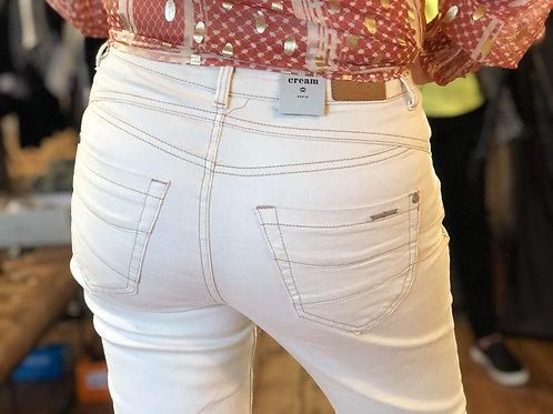 Cream LivaCR Pant Beige